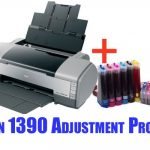 Epson 1390 Adjustment Program Download (Reset Waste Ink Pad Counter)