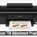 Epson T30 Adjustment Program