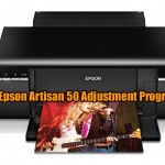 Epson Artisan 50 Adjustment Program
