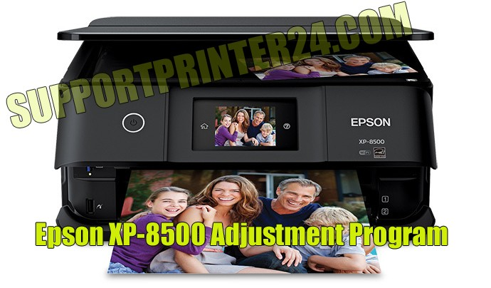 Epson XP-8500 Adjustment Program