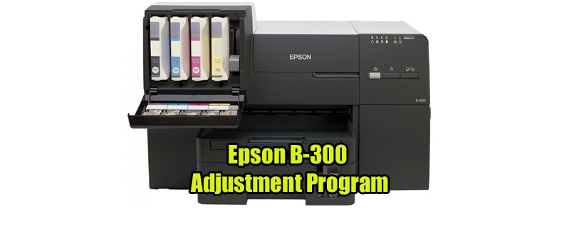 Epson B-300 Adjustment Program