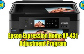 Epson Expression XP-431 Resetter