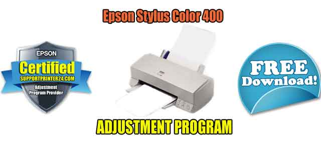 Epson Stylus Color 400 Adjustment Program