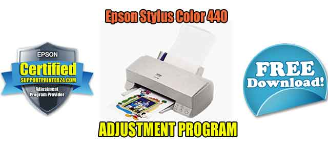 Epson Stylus Color 440 Adjustment Program