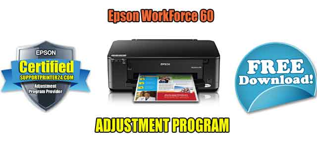Epson WorkForce 60 Adjustment Program
