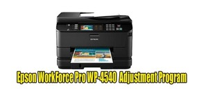 Epson WorkForce Pro WP-4540 Adjustment Program