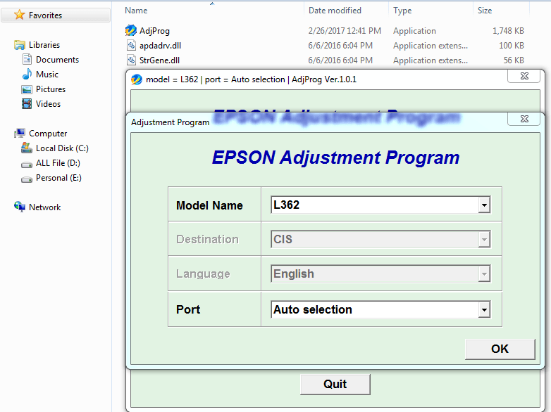 Adjustment-Epson-L362