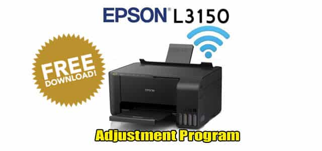 Epson L3150 Adjustment Program Reset Tool