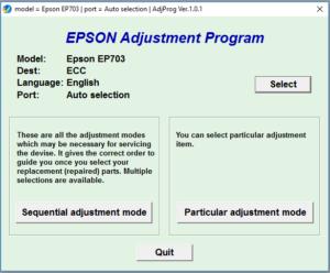 Epson Stylus EP703