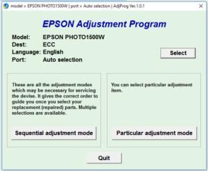 Epson Stylus Photo 1500