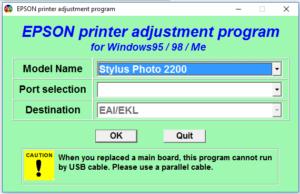 Epson Stylus Photo 2200