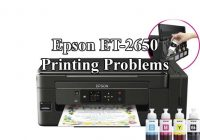 epson et-2750 not printing color