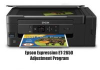 Epson Expression ET-2650 Adjustment Program